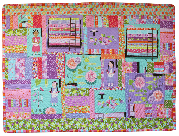 princess & the pea wallhanging
