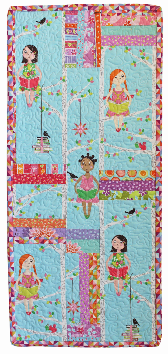 quiet time wallhanging