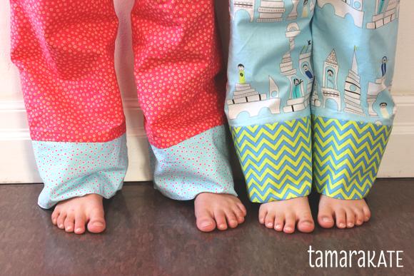 pyjama pants detail