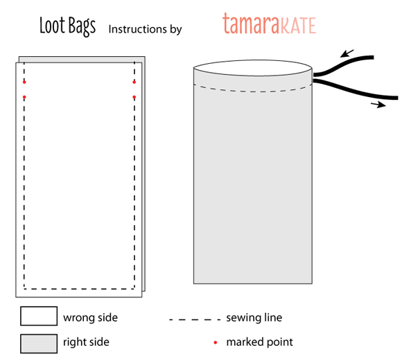 loot bag instructions