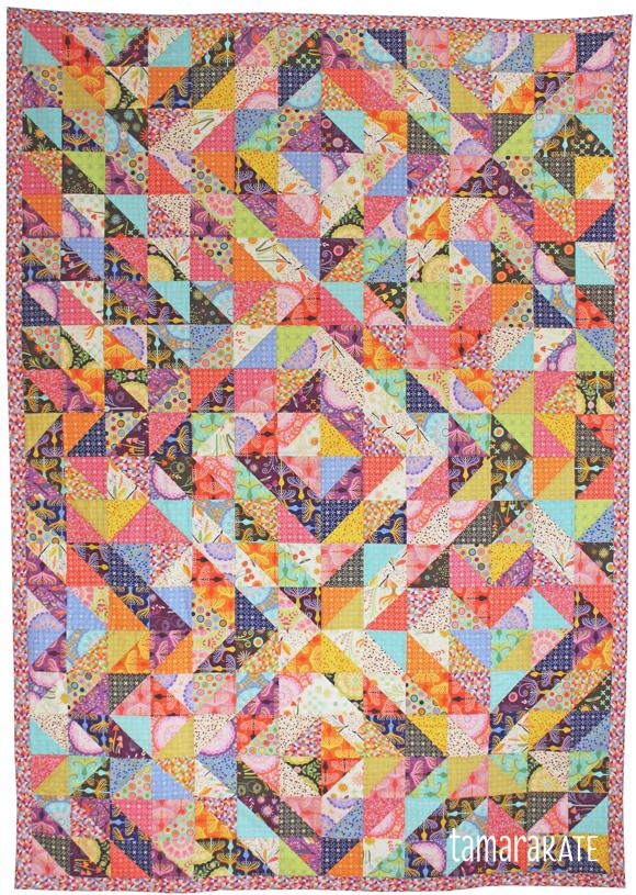 helen's garden parterre quilt