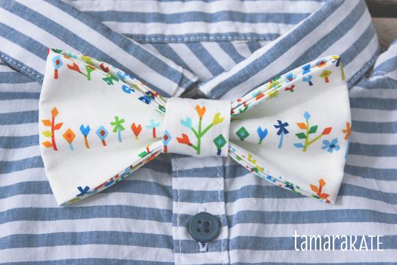 tamara kate floret bow tie
