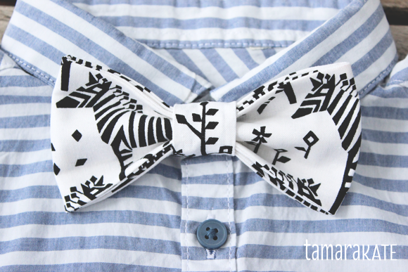 tamara kate midnight train bow tie