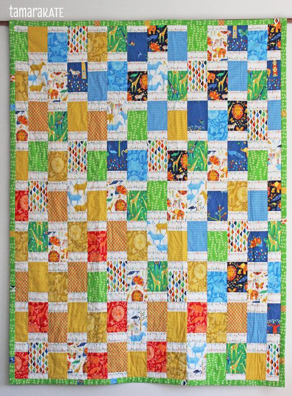 tamara kate origami oasis grassland quilt