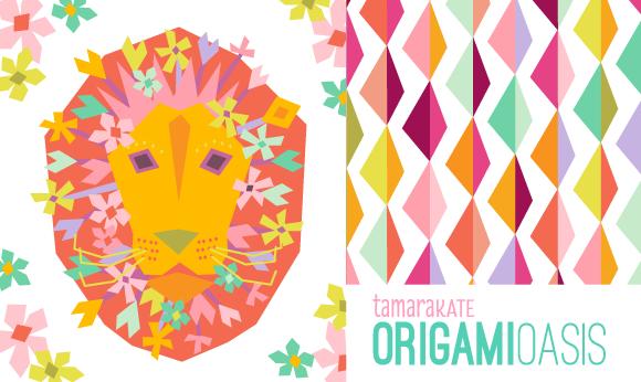 origami oasis header