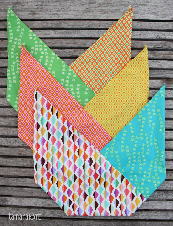 Kayajoy Happy Sewing Origami Oasis Bento Bags