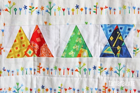 tamara kate origami oasis grassland quilt back3
