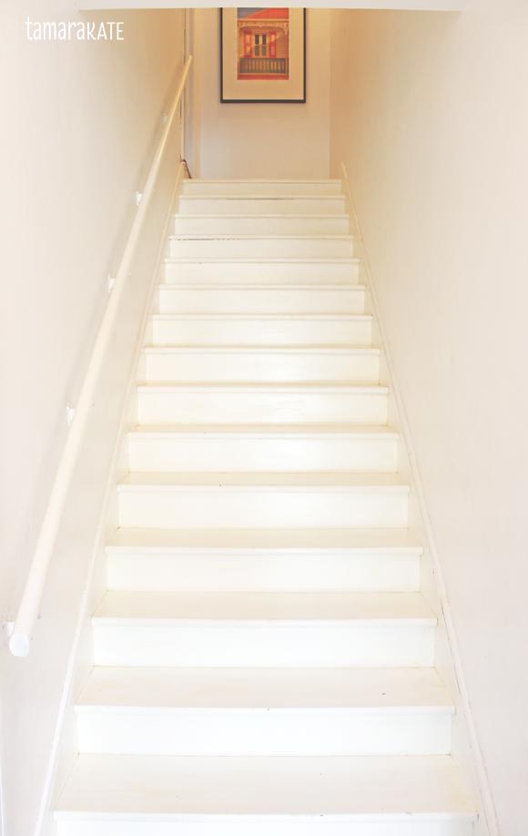 tamara kate - stairs before