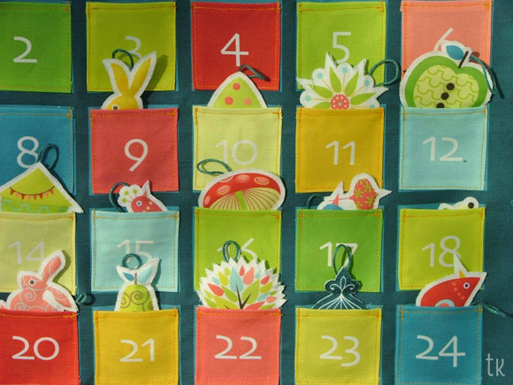 advent calendar pockets