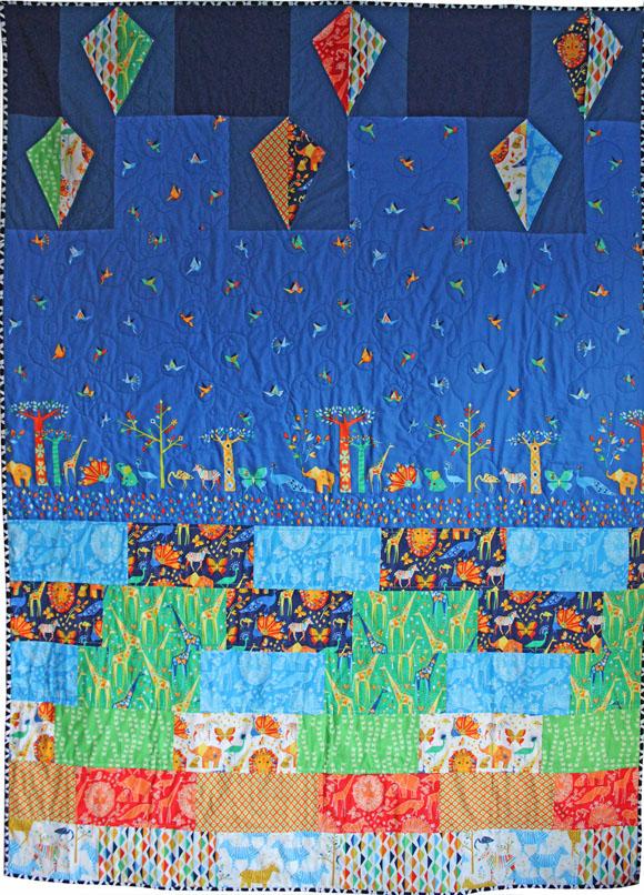 jenn topp - oasis frolic quilt