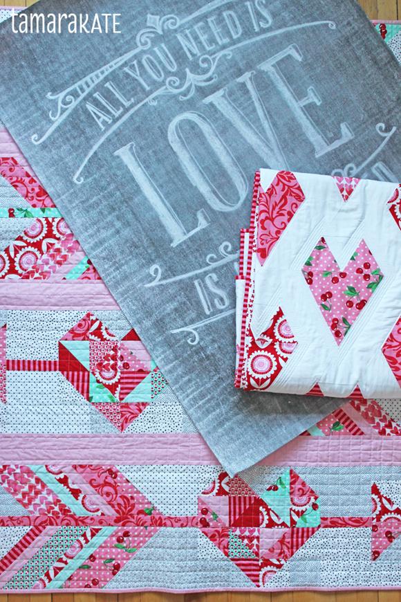 valentines quilts