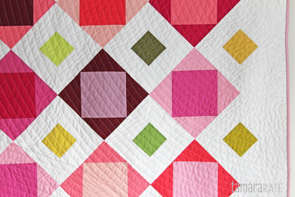tamara kate - bloomin quilt detail