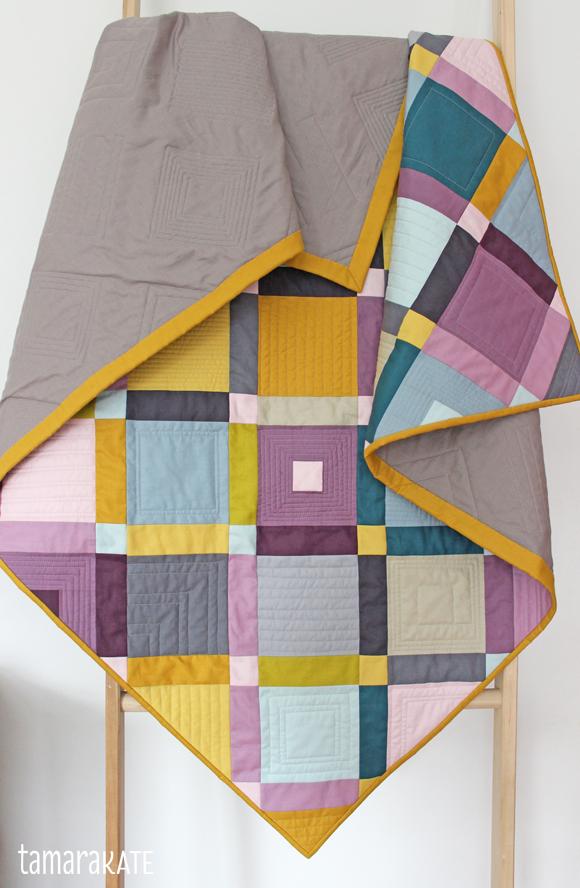 tamara kate - cobblestone quilt detail2