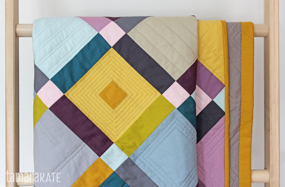 tamara kate - cobblestone quilt detail3