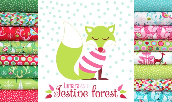 festive forest header