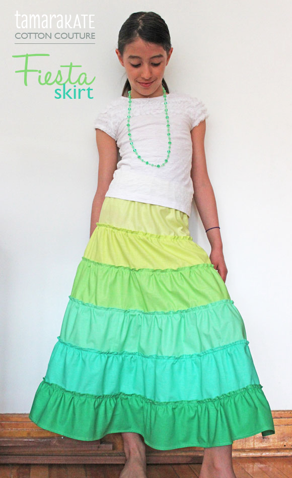 tamara kate - cotton couture fiesta skirt
