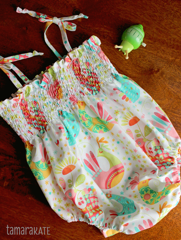 feathered flock sunsuit