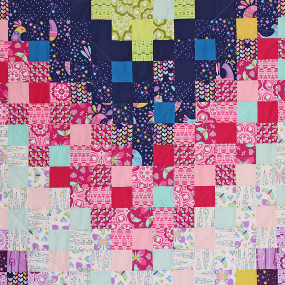 flight formation quilt detail2 - tamara kate