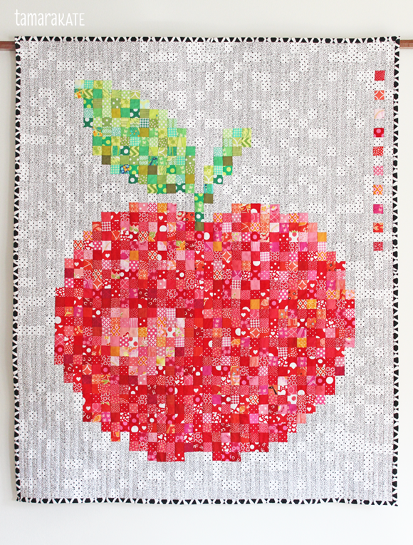 big & juicy quilt - tamara kate