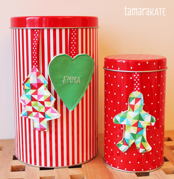 tamara kate - gift tags tins