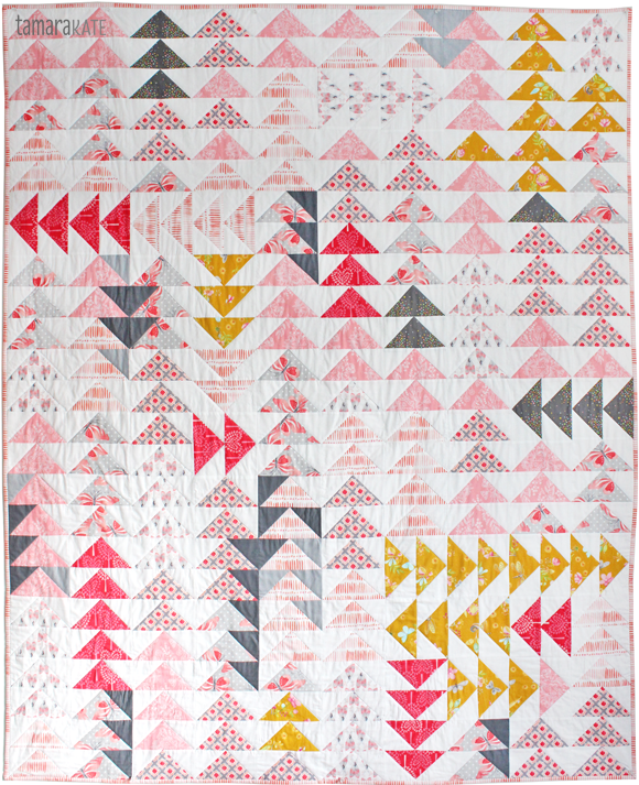 off the beaten track quilt - tamara kate