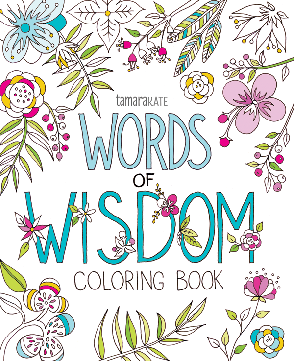 words of wisdom cover coloured