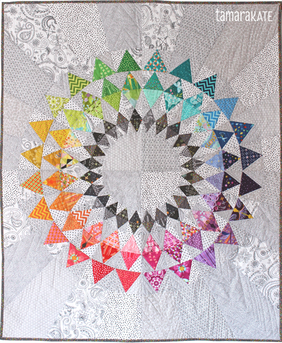 whatever the weather quilt - tamara kate