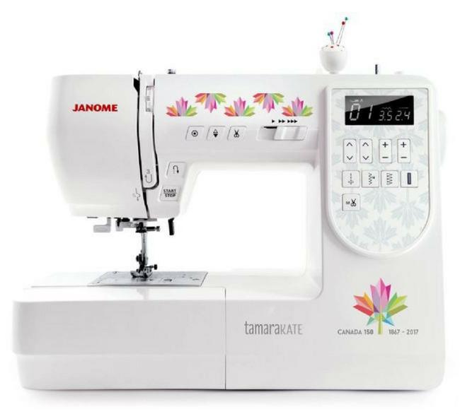 janome sewing machine canada