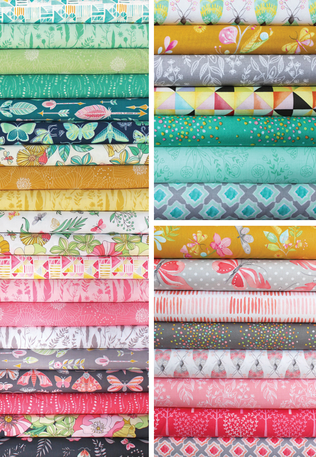 Joy and Nature Walk Collections by Tamara Kate for Michael Miller Fabrics